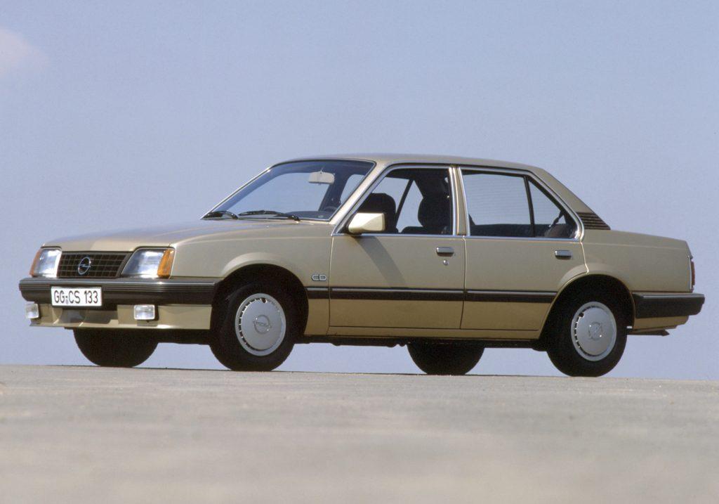 Opel Ascona 1982 года
