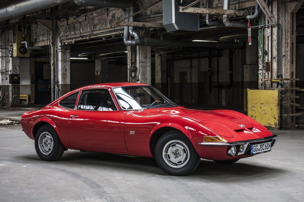 Opel GT 1968 года