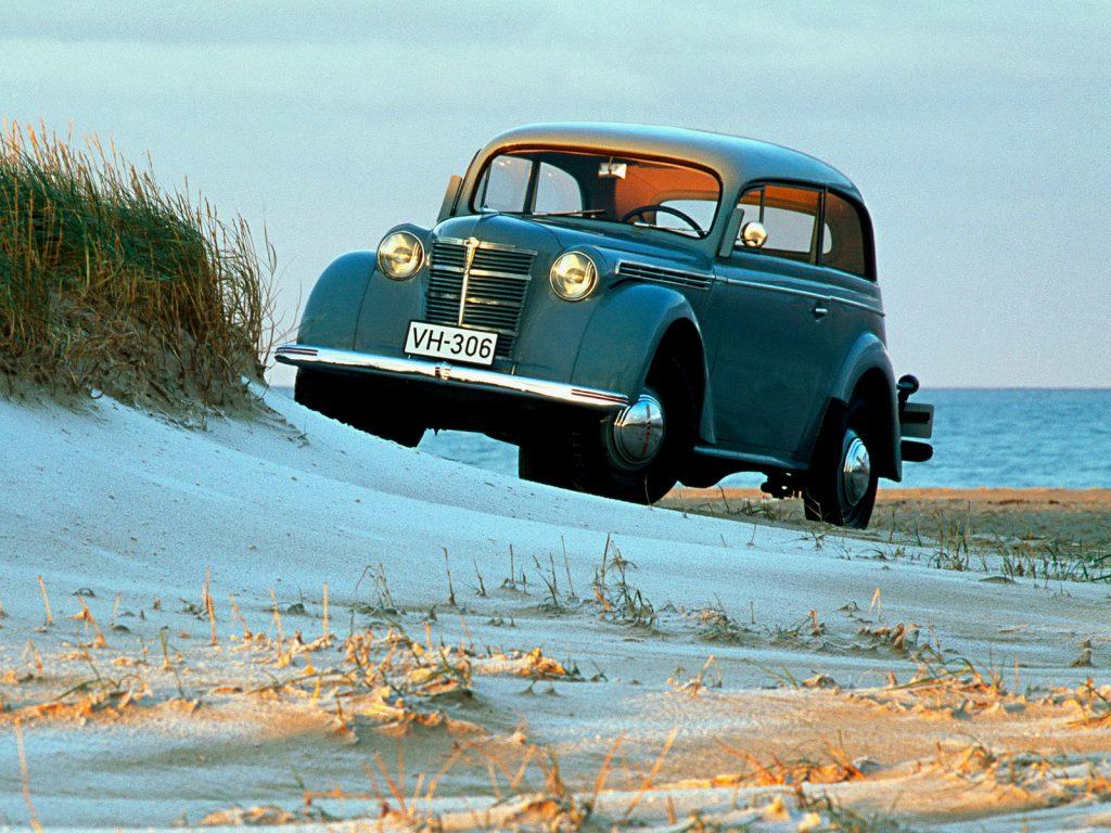 Opel Kadett превратился в Москвич
