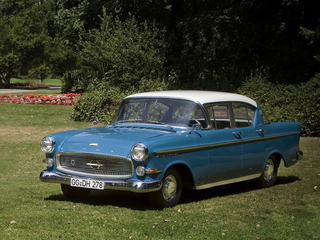 Opel Kapitän 1958 года