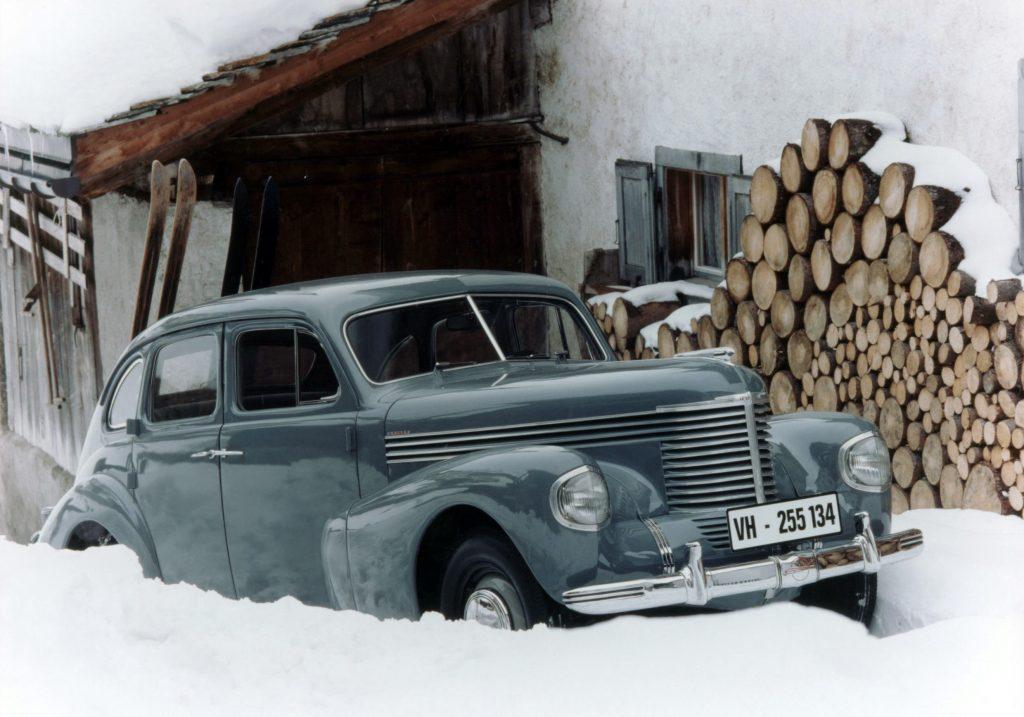 Opel Kapitan, 1938 год