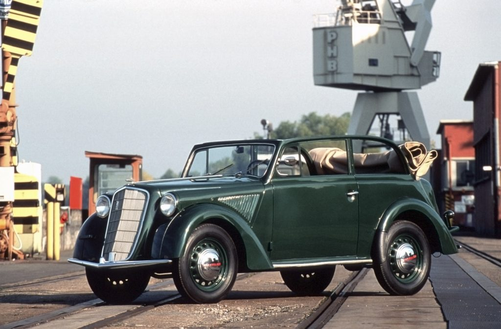 Opel Olympia 1935 года