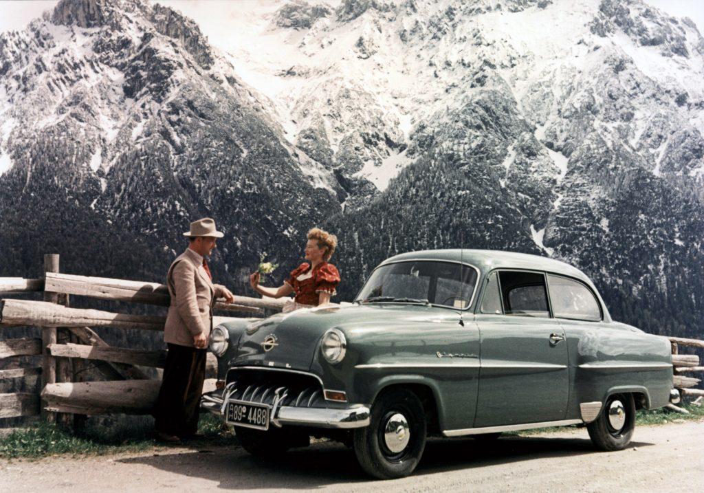 Opel Olympia Rekord 1953 года