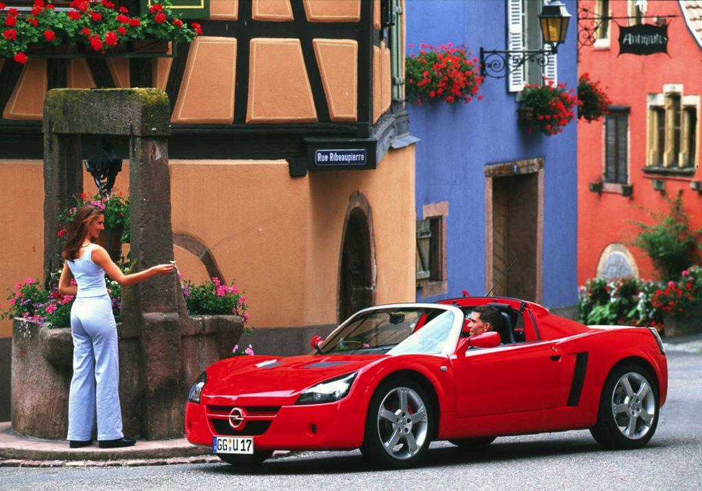 Opel Speedster 2000 года