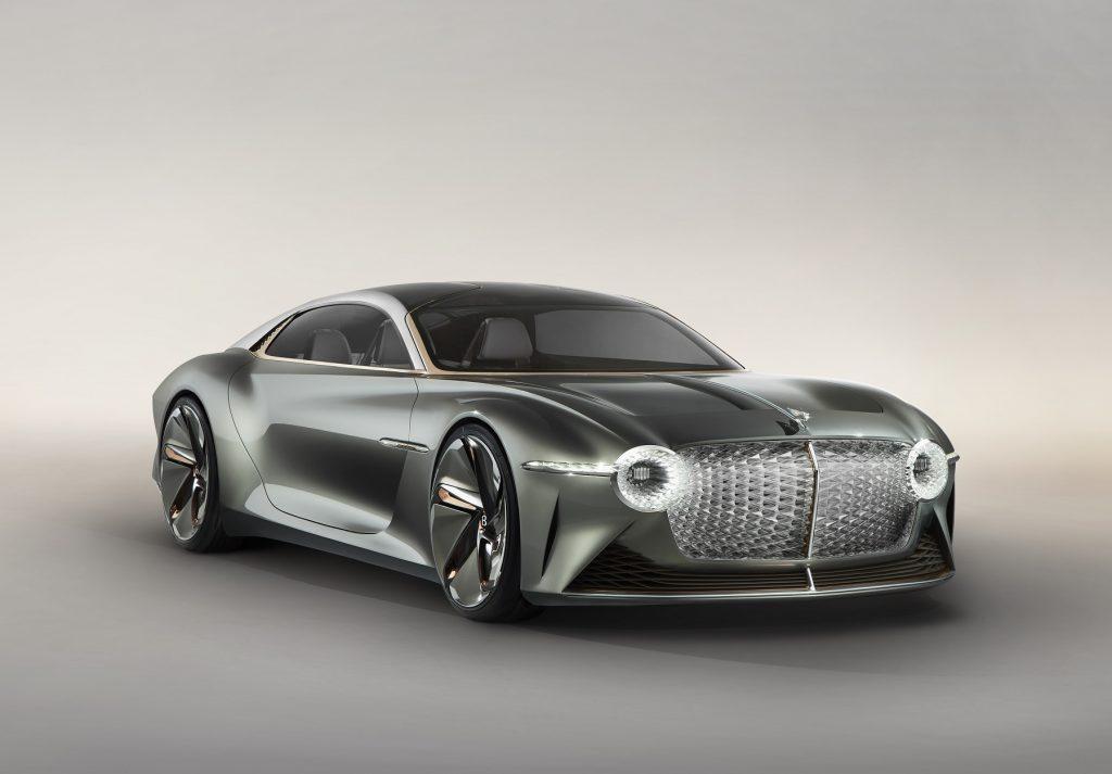 Bentley EXP 100 2019, вид спереди