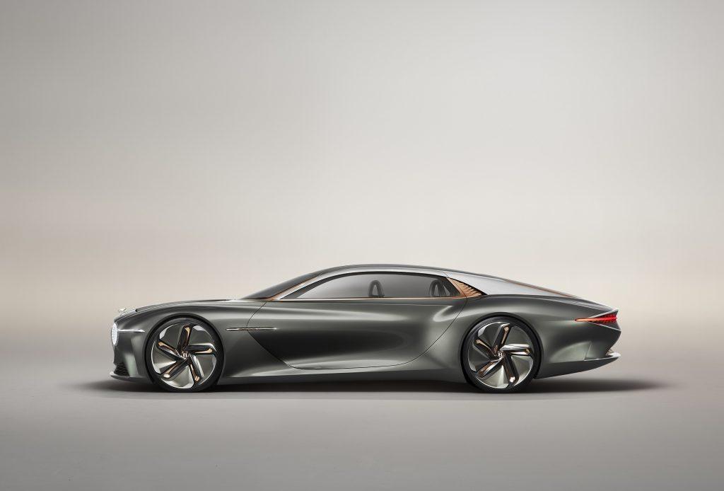 Bentley EXP 100 2019, вид сбоку