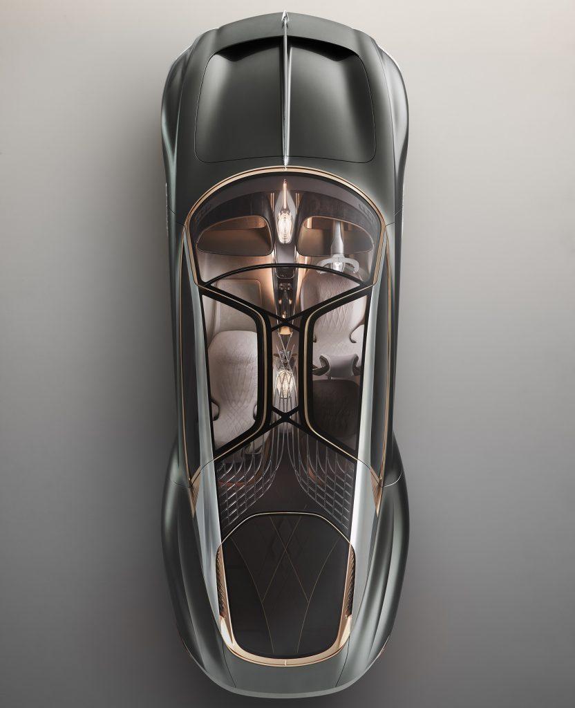 Bentley EXP 100, вид сверху