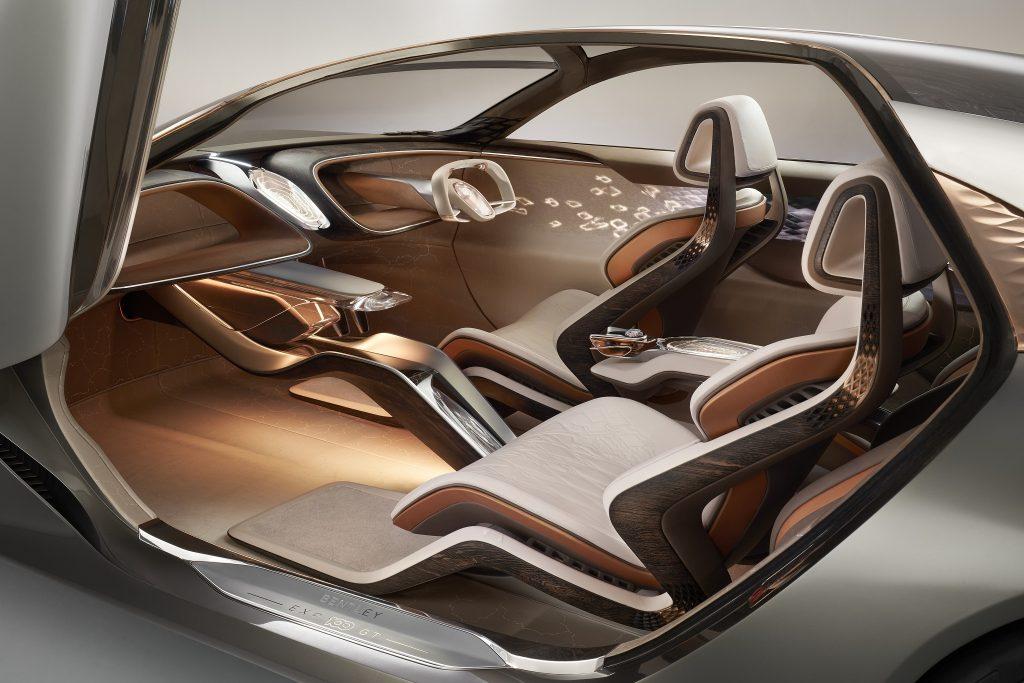 Bentley EXP 100 2019, салон