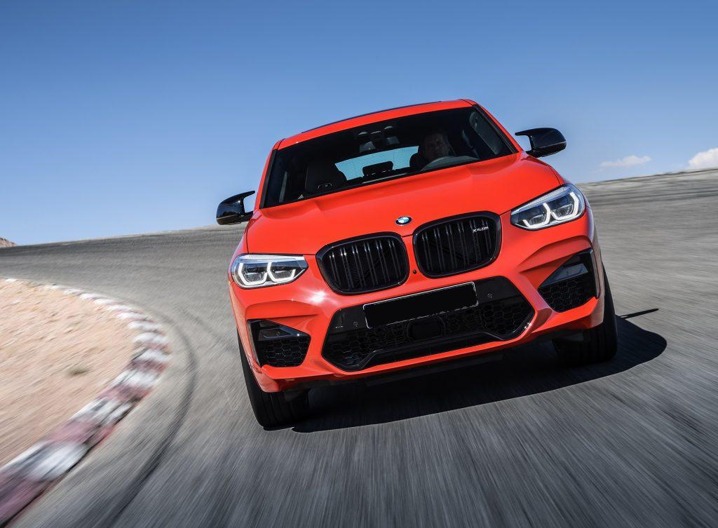 BMW X4 M 2019, вид спереди