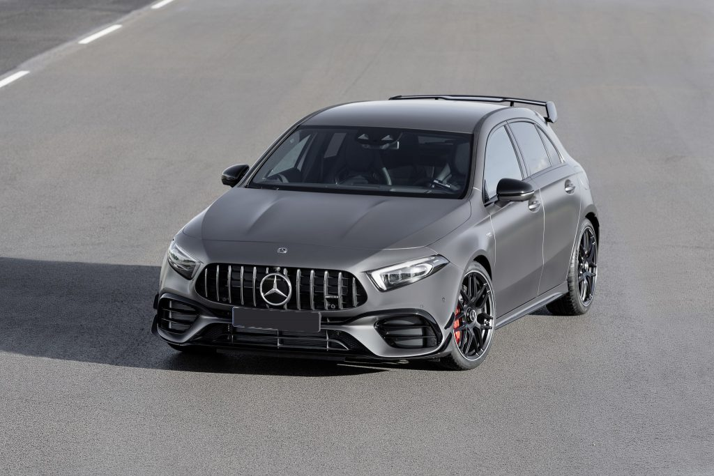 Mercedes-AMG A45 2019, вид спереди