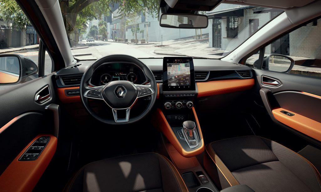 Новый Renault Captur, передняя панель