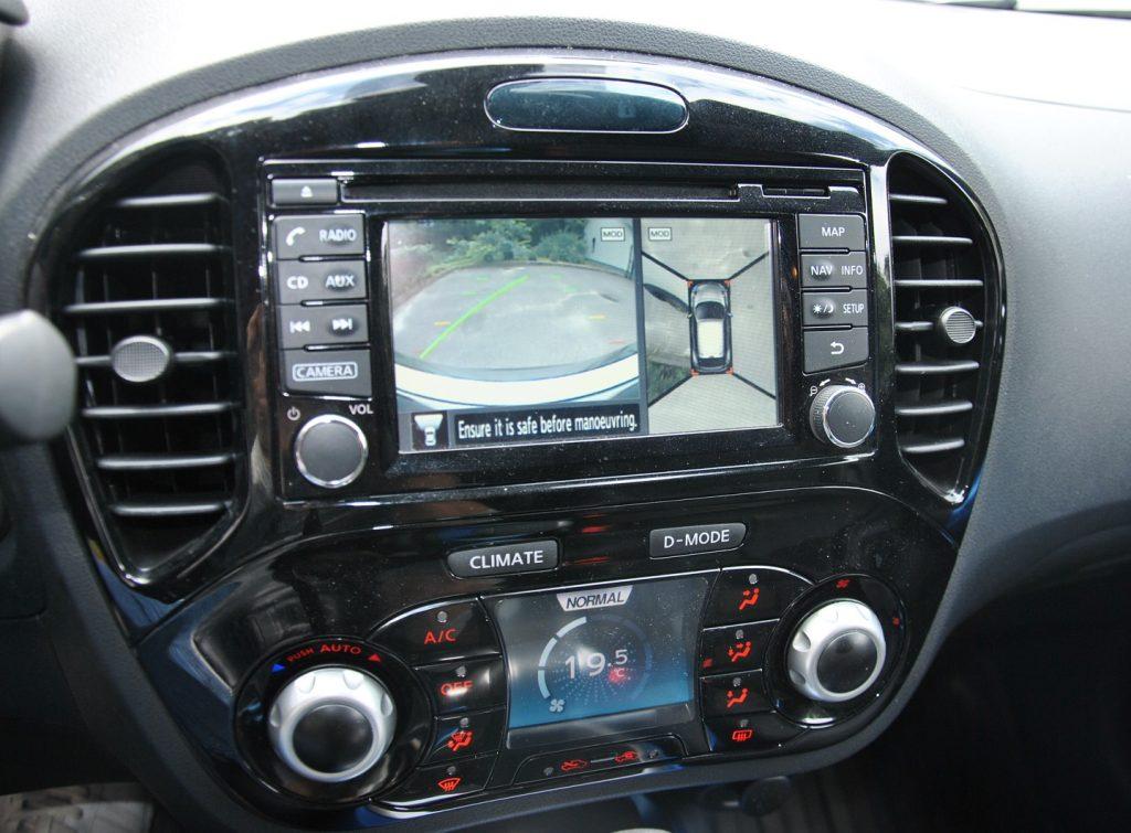 Новый Nissan Juke, камеры