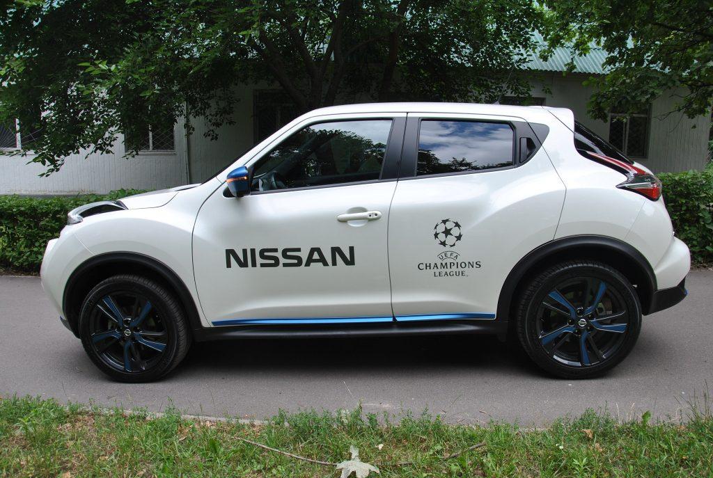 Nissan Juke 2019, вид сбоку