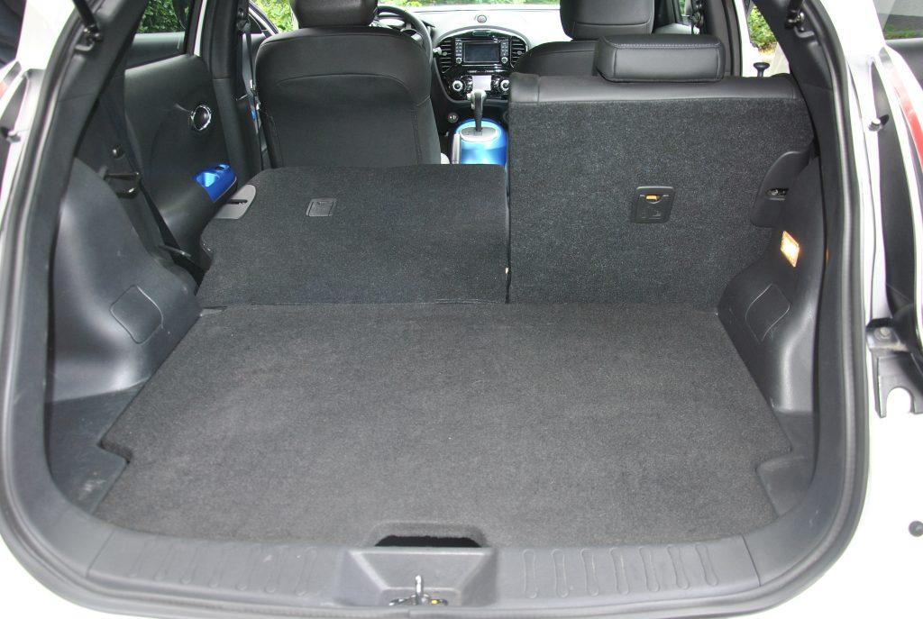 Новый Nissan Juke, багажник