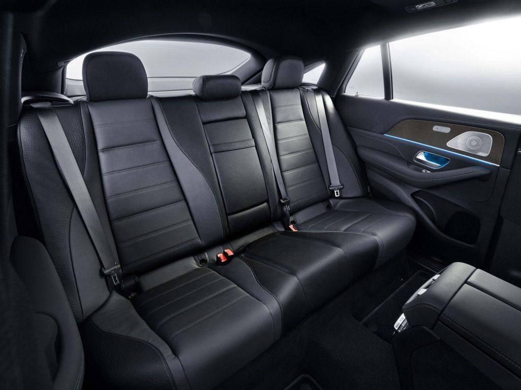 Mercedes-Benz GLE Coupe, задние сиденья