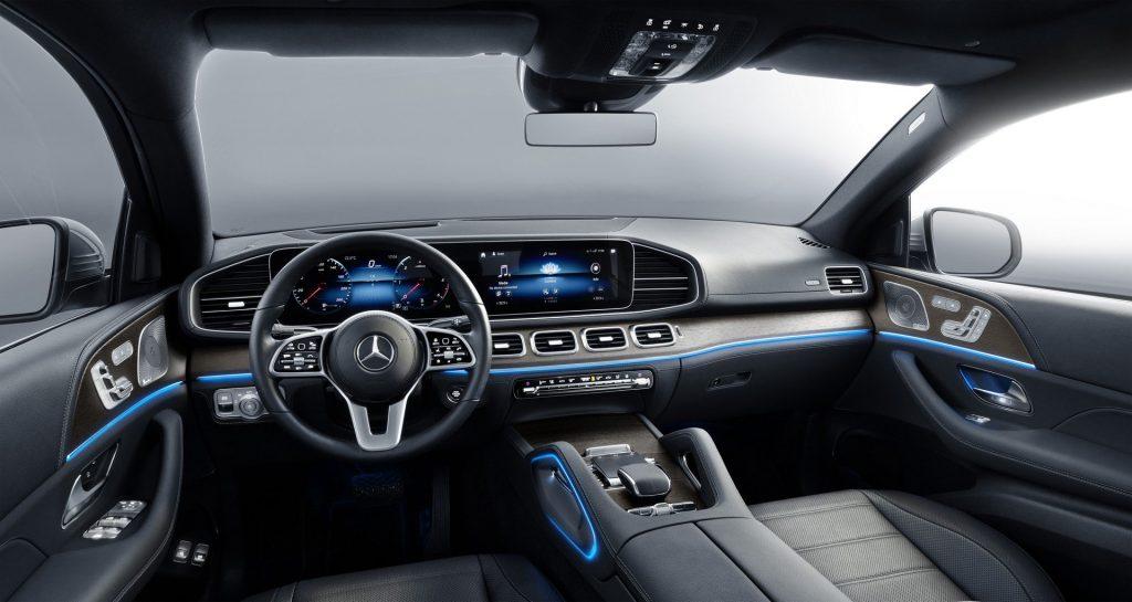 Новый Mercedes-Benz GLE Coupe, салон