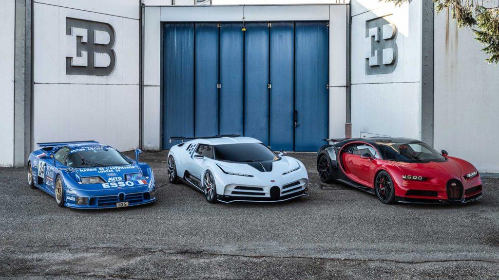 Bugatti Centodieci 2019