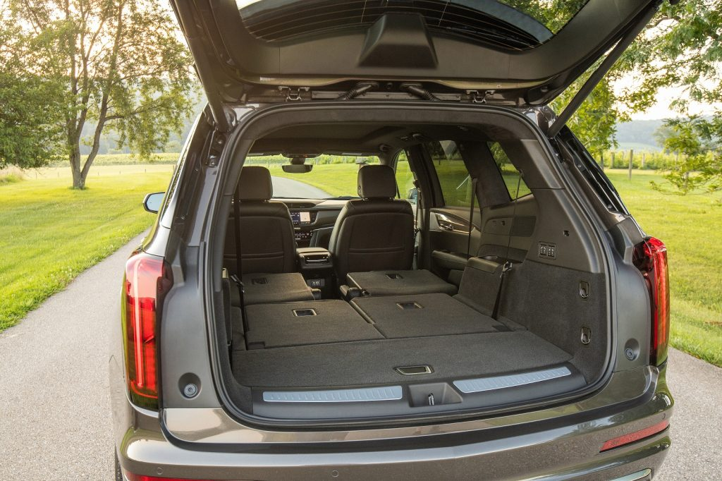 Новый Cadillac XT6, багажник