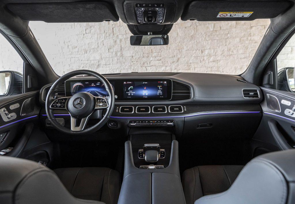 Mercedes-Benz GLS 2020, передняя панель