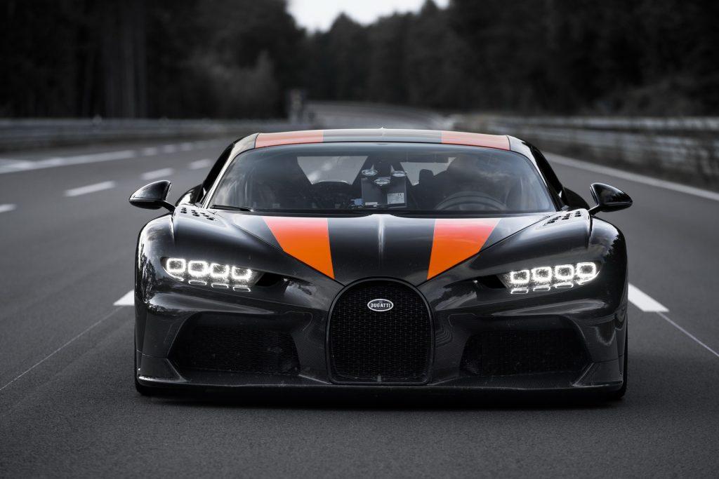 Bugatti Chiron Super Sport 300+, вид спереди