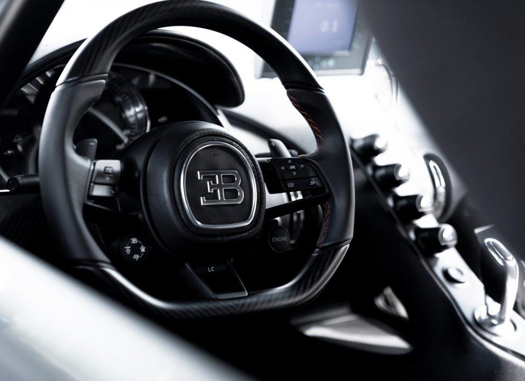 Bugatti Chiron Super Sport 300+, салон