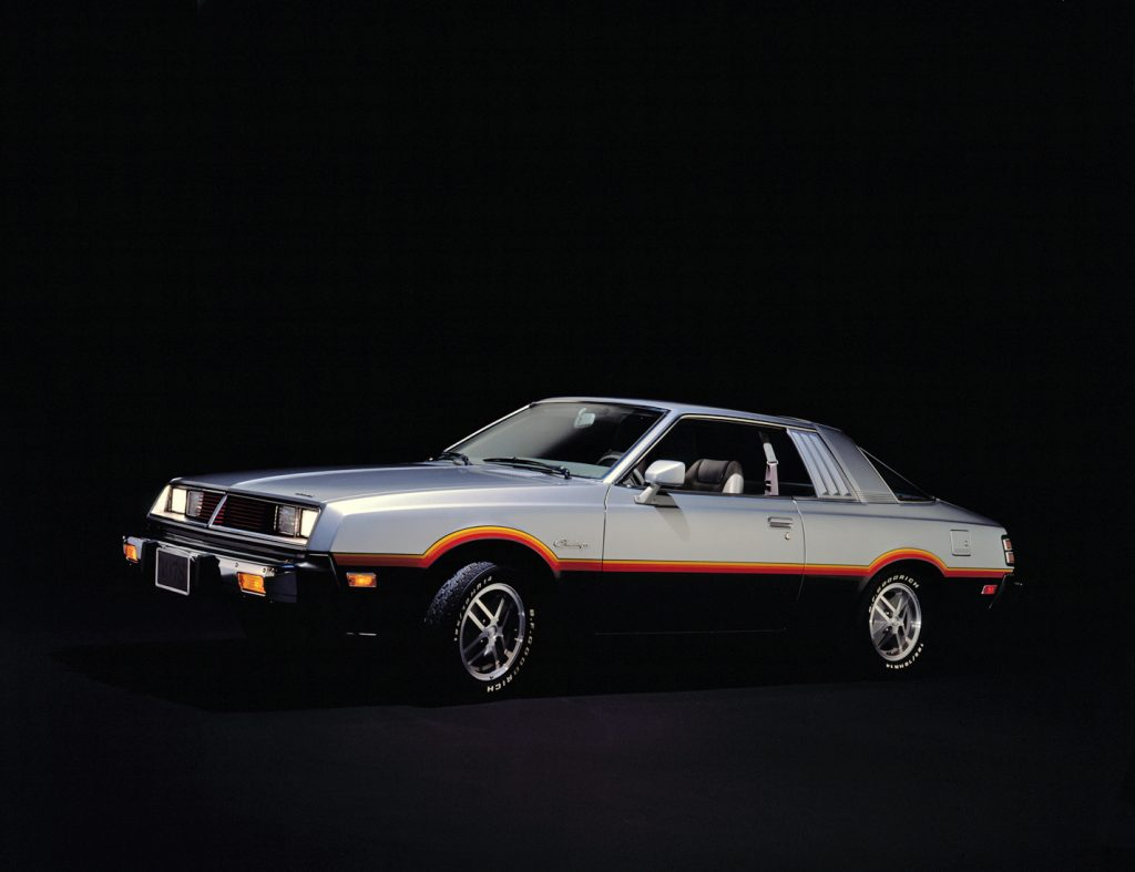 Dodge Challenger 1978 года - копия Mitsubishi Galant