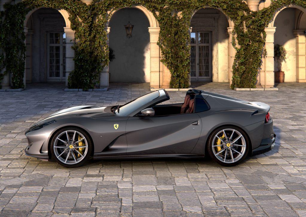 Ferrari 812 GTS, вид сбоку