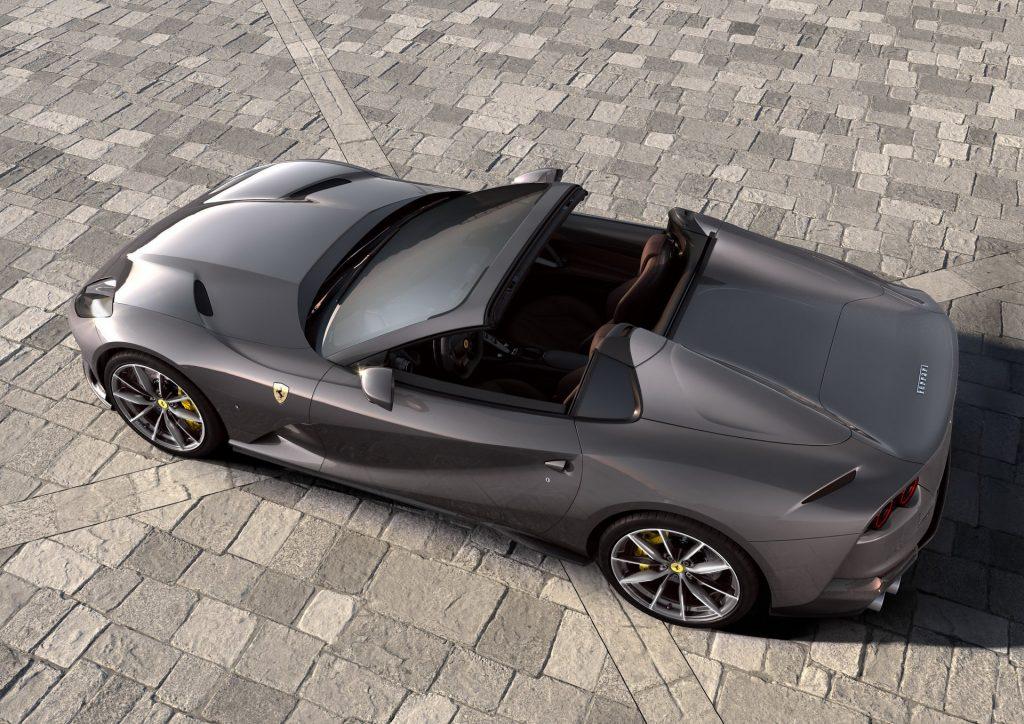 Ferrari 812 GTS 2020, вид сверху