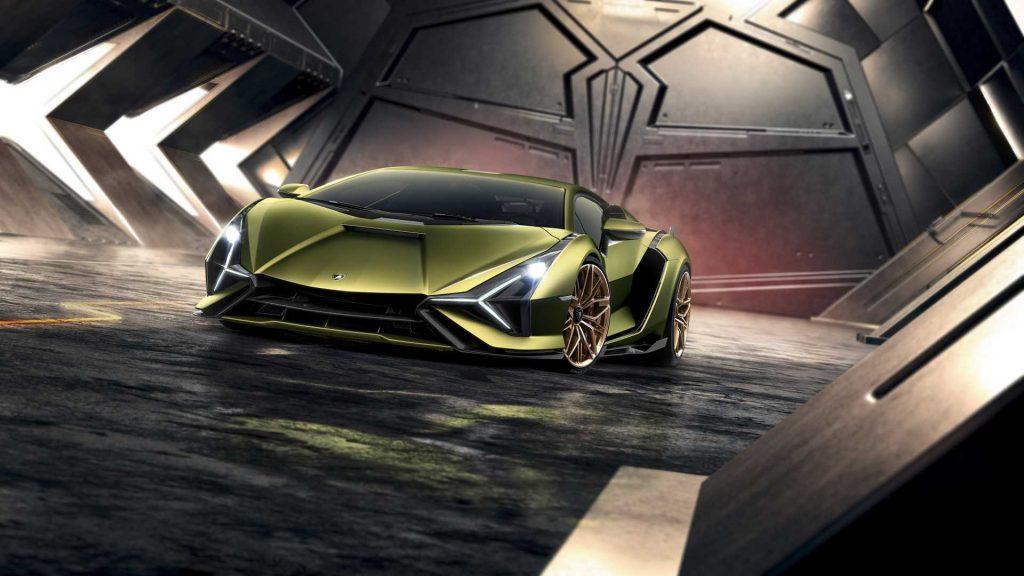 Lamborghini Sian 2019, вид спереди