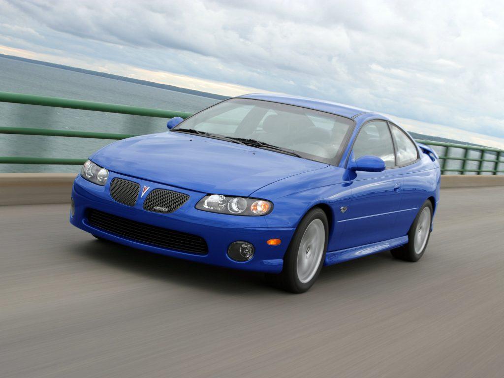 Возрожденный Pontiac GTO выпускали в 2004-2006 годах
