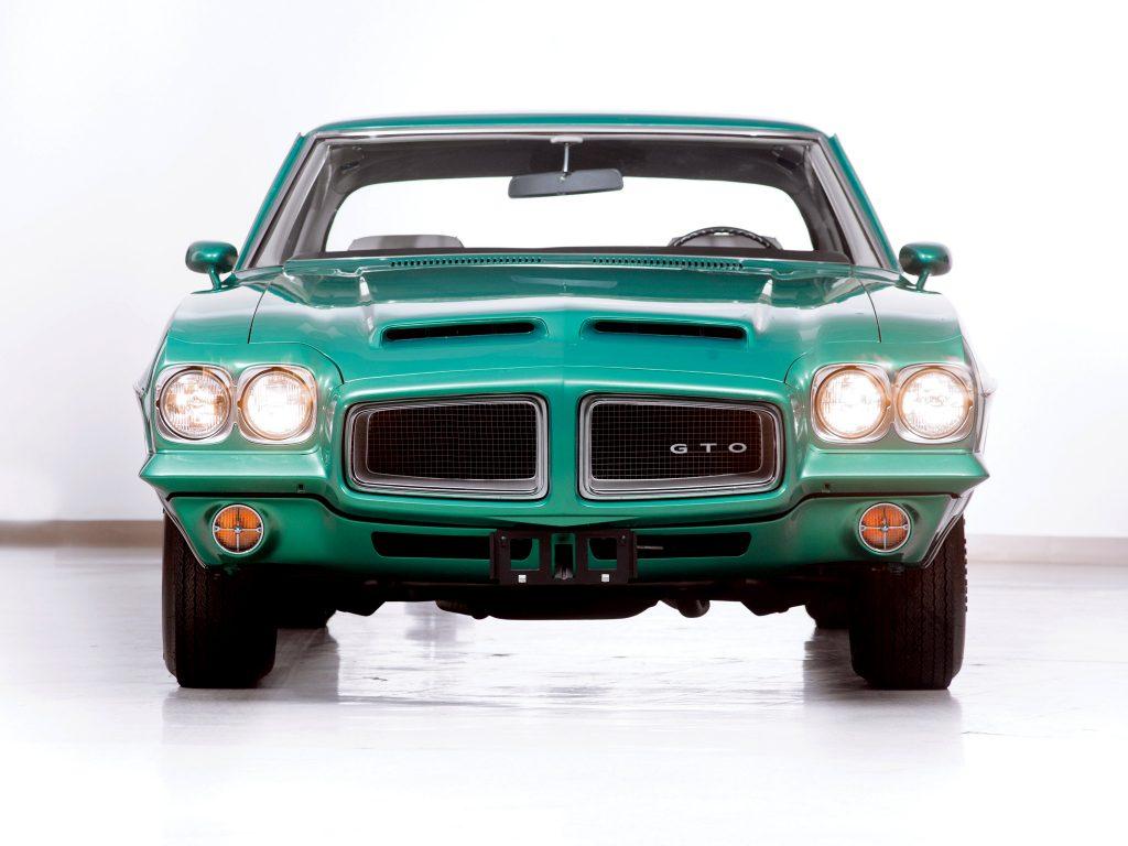 В 1972 году Pontiac GTO стал версией модели LeMans