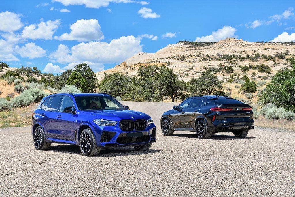 BMW X5 M и X6 M 2020