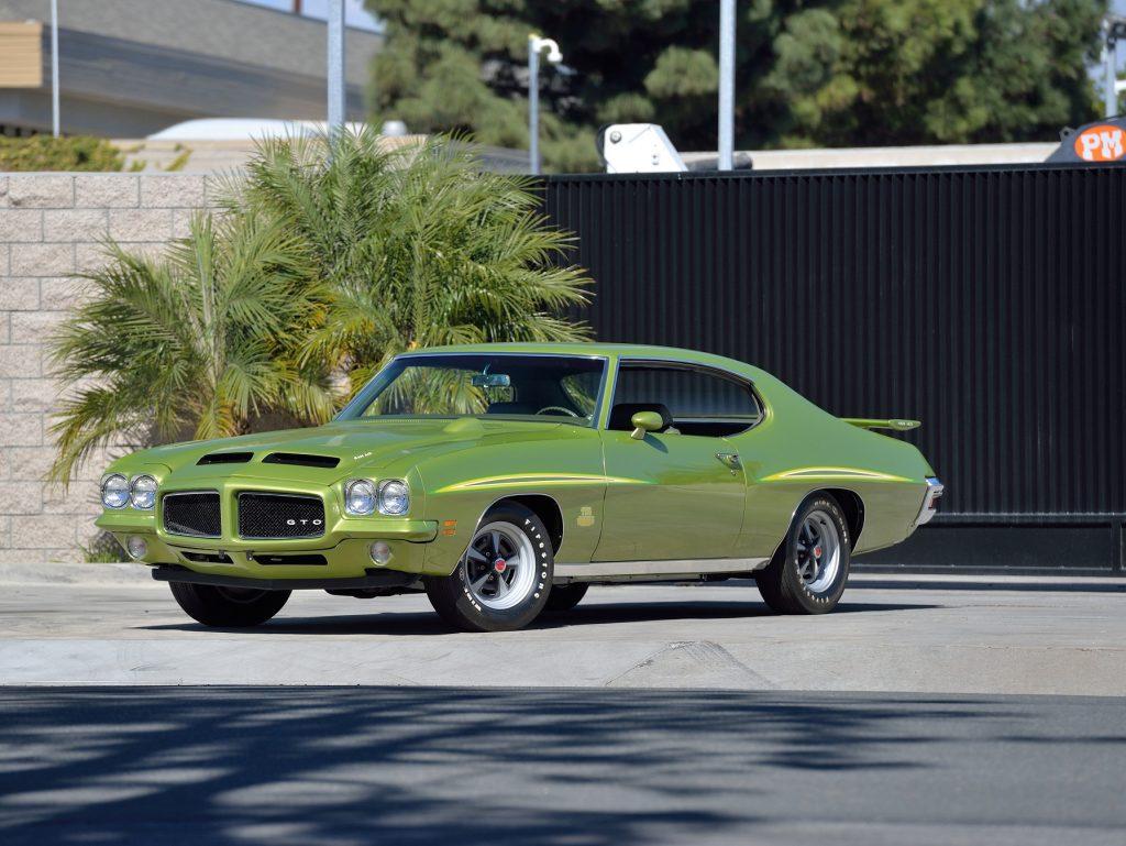 Pontiac GTO 1971 года