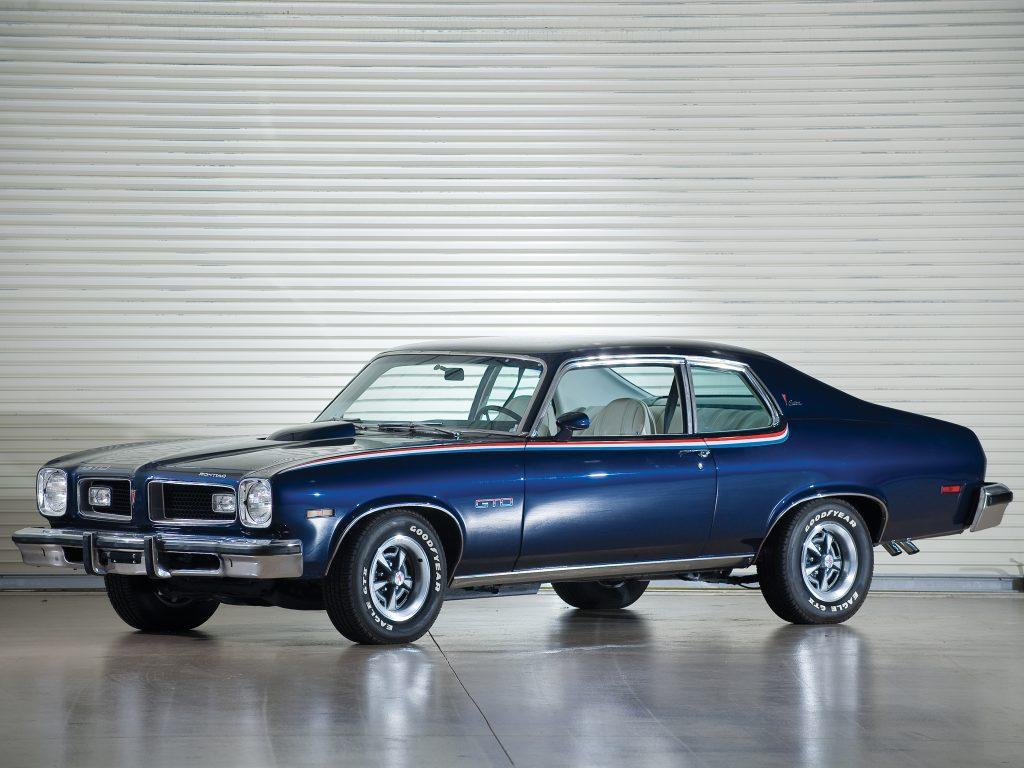 Pontiac GTO 1974 года