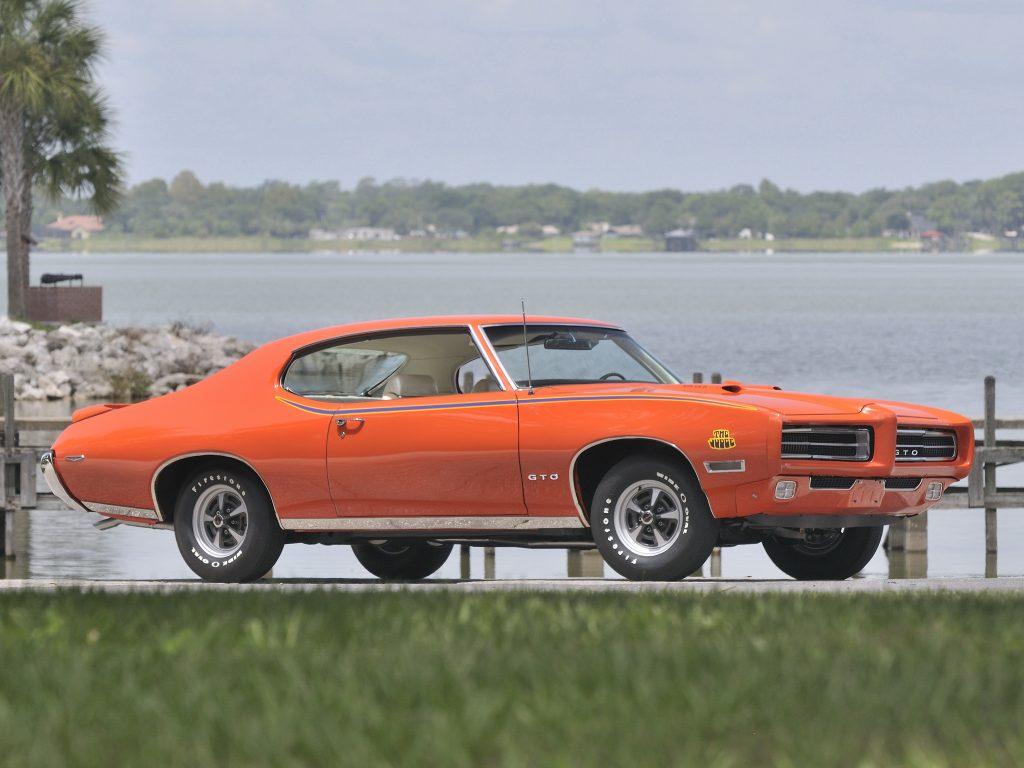 Pontiac GTO The Judge 1969 года
