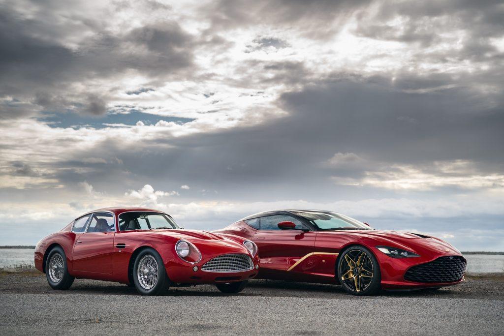 Aston Martin DBS GT Zagato и DB4 GTZ
