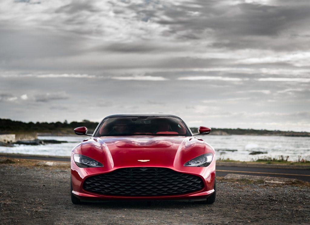 Aston Martin DBS GT Zagato 2020, вид спереди