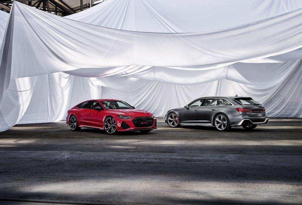 Audi RS7 Sportback и RS6 Avant