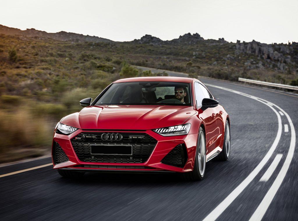 Audi RS7 Sportback 2020, вид спереди