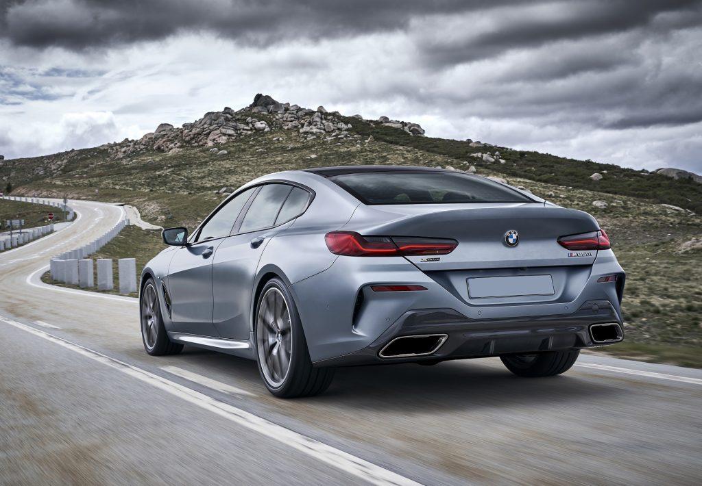 Новый BMW 8 Series Gran Coupe, вид сзади