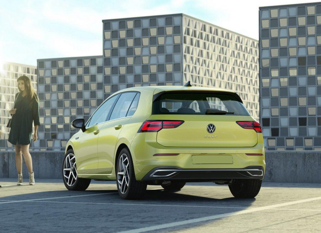 Volkswagen Golf 2020, вид сзади