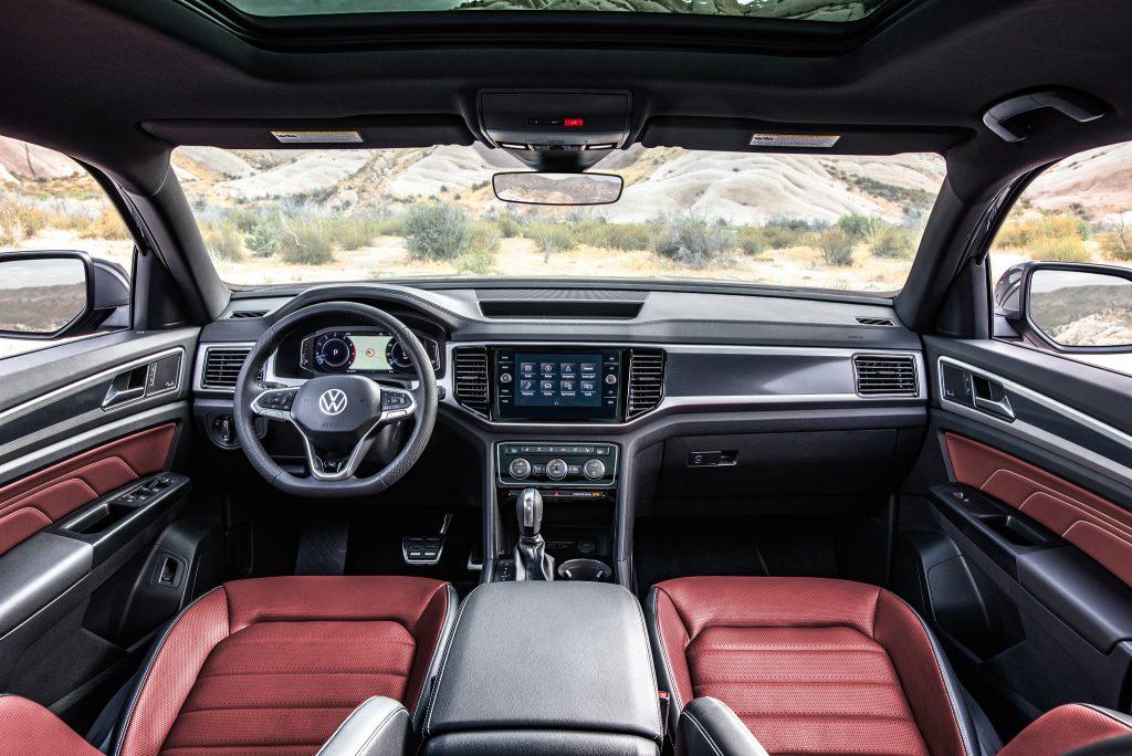 Новый Volkswagen Atlas Cross Sport, салон