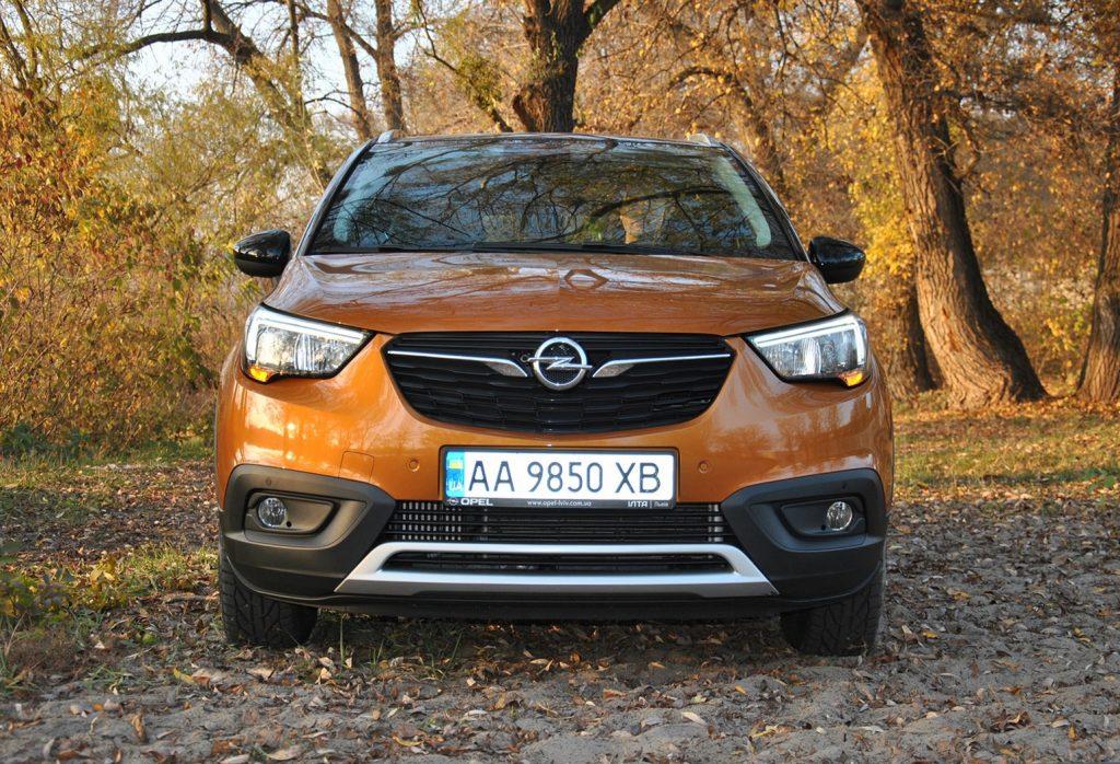 Opel Crossland X 2019, вид спереди