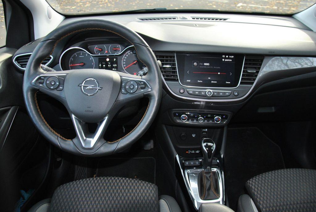Новый Opel Crossland X, передняя панель