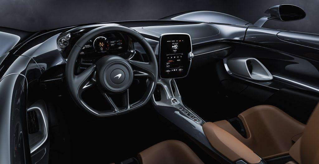 McLaren Elva 2020, салон
