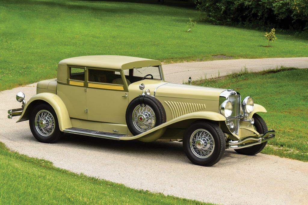 Duesenberg J Victoria Coupe by Judkins 1932 года