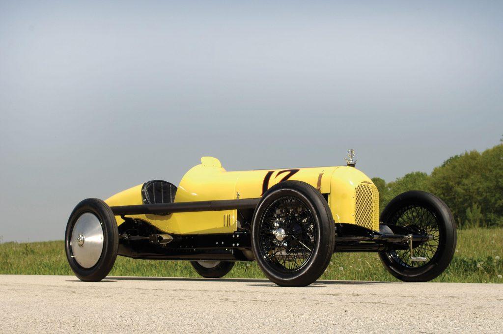 Duesenberg Speedway Car трижды выигрывал гонку 500 миль Индианаполиса