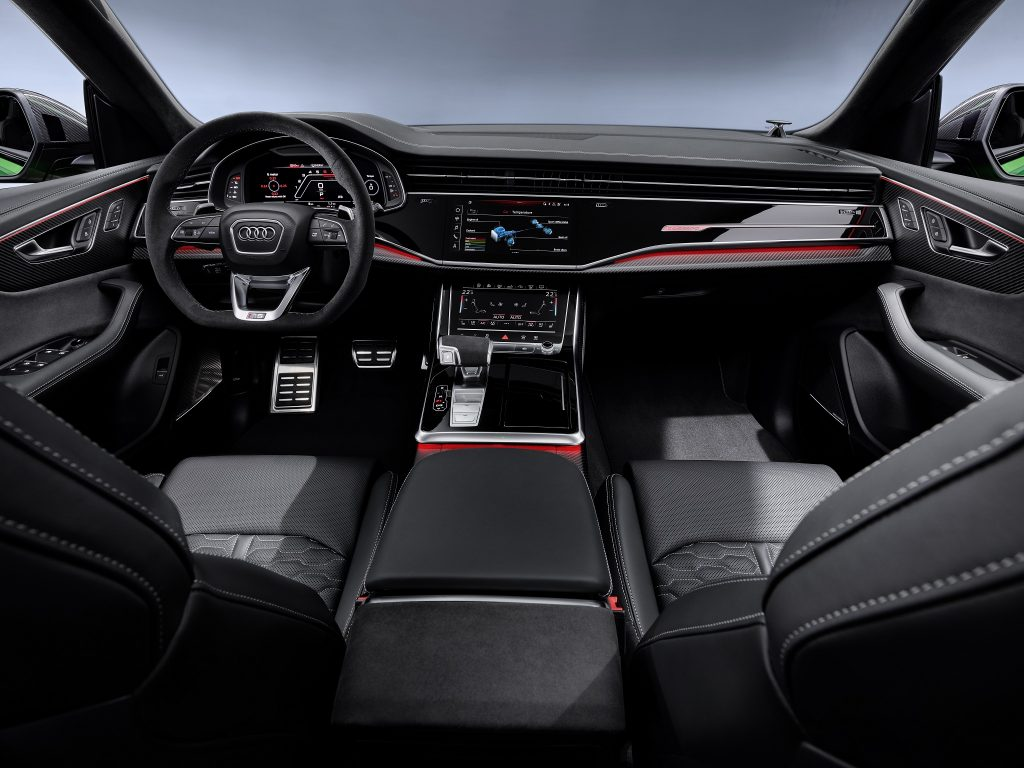 Audi RS Q8, передняя панель