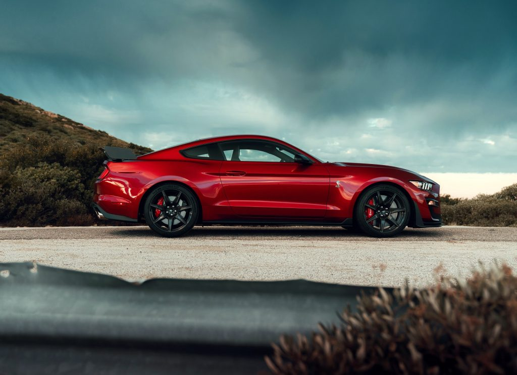 Ford Mustang Shelby GT500 2020, вид сбоку