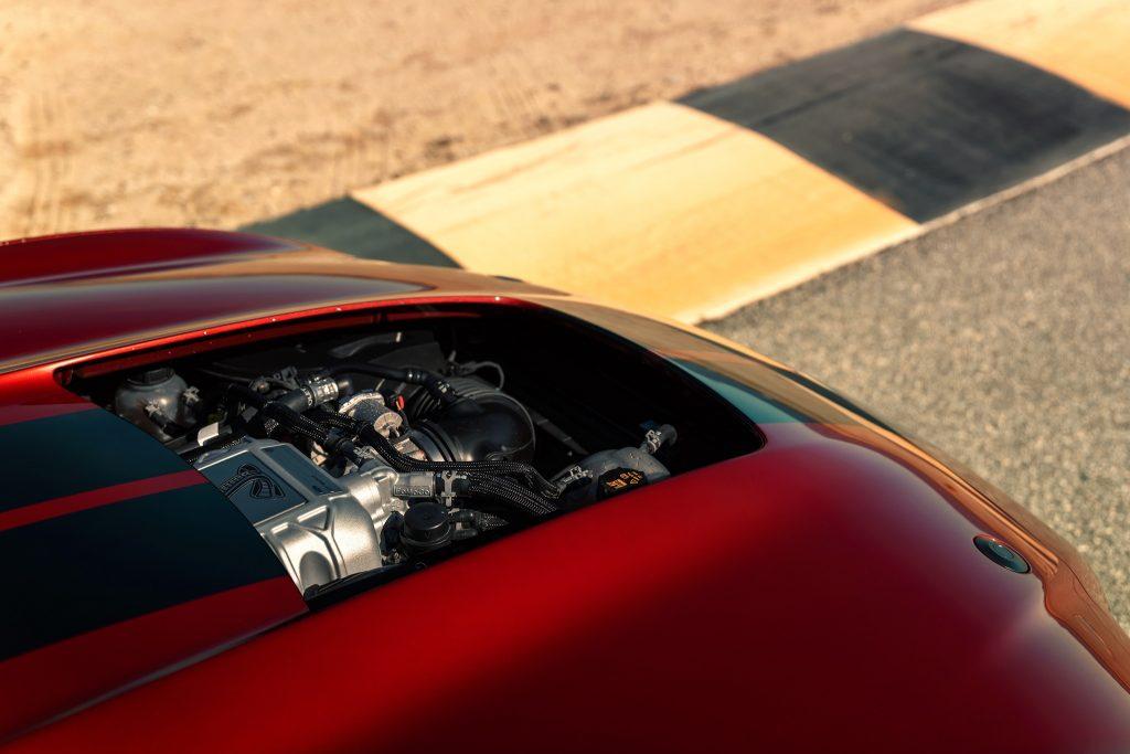 Ford Mustang Shelby GT500 2020, двигатель